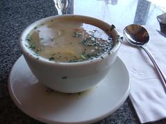 Chicken lemon soup