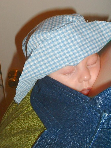 gingham hat 03-22-10 front 3