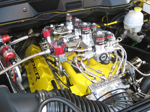 show arizona hot car yellow truck pickup az cottonwood dodge rod custom ram viper meet no2 srt10 oxide nitrous 1000hp