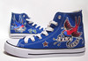 fly free Hand painted shoes