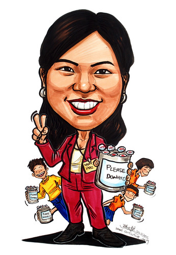 Caricature for Ministry of Manpower - 11