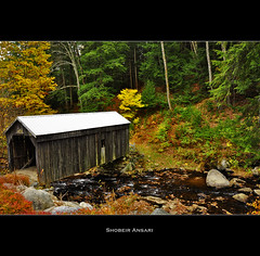 Copeland Covered Bridge (Shobeir) Tags: autumn usa fall nature grass horizontal rural landscape outdoors photography countryside interestingness october day nopeople explore coveredbridge newyorkstate woodenbridge adirondack circularpolarizer tranquilscene historiccoveredbridge beautyinnature newyorklandscape newyorkautumn fallinnewyork autumnlandscape niksoftware shobeiransari beechercreekfalls clarkvilleedinburg viveza2 edingburgnewyork aradcopeland copelandcoveredbridge nationalregistersofhistoricsites gsubmitted fallinupstatenewyork fallinnortheast northeastscenics upstatenewyorkscenics