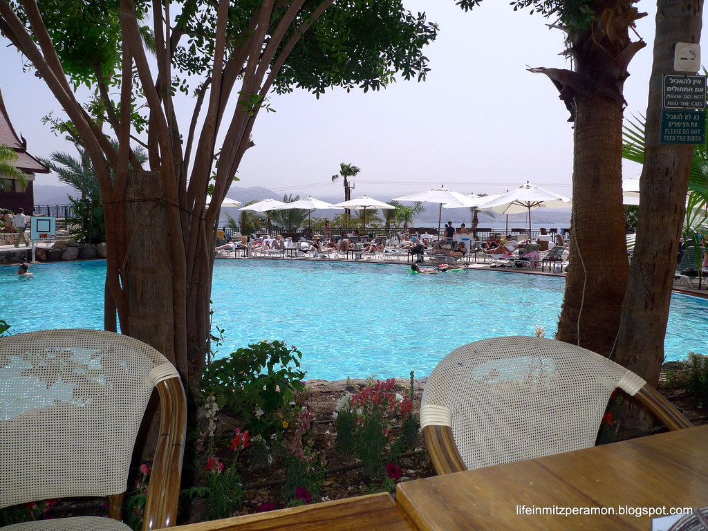 Life in Mitzpe Ramon: In Eilat for Pesach