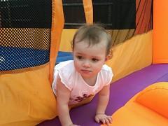Liesl in Bouncy Room