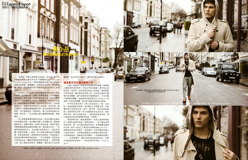 ELLE Taiwan (2010/04) Rhydian Vaughan