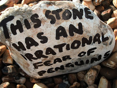 Stone 3 (Los Dave) Tags: sea beach dave writing walking landscape typography penguin words interesting kirby rocks poetry waves seascapes stones walk text philosophy pebbles humour solent beaches type lettering language poems seashore wit lexicon terms pcm terminology lexicography losstencilistas portsmouthcreativemovement t8gallery davidgkirby wwwt8gallerycom