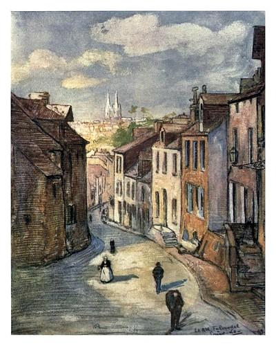 015- San Lo en Normandia-Normandy-1905- Ilustrado por Nico Jugman