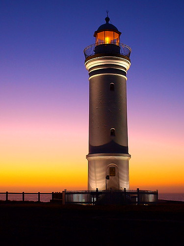 Kiama lighthouse sunrise