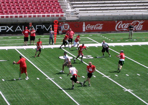 Red-White Scrimmage 2010 001