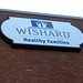 Wishard sign cabinet