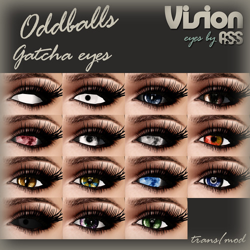 Vision - eyes by A:S:S