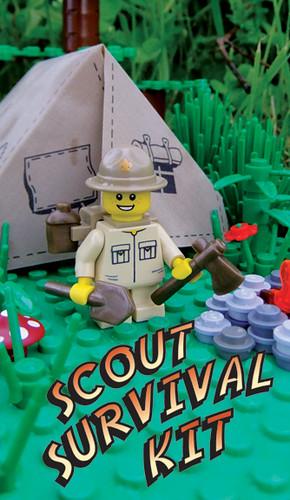 Brickworld - Scout Survival Kit by BrickForge