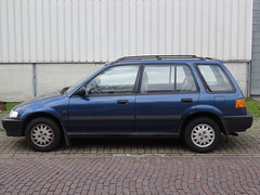 1992 Honda Civic Shuttle (harry_nl) Tags: netherlands honda nederland shuttle civic naarden 2014 hcar