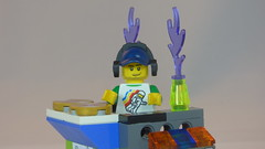 DJ Baxsta & Custom DJ Table Brick Yourself Custom Lego Figure4