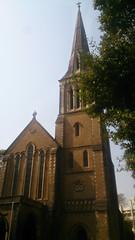 Austere Grandeur of Afghan Church   ~  Explore  ~ (U A Satish) Tags: afghanchurch colaba church mumbai outdoor architecture india heritagebuilding uasatish explore
