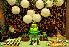 Panda Dessert Table (sweetsuccess888) Tags: sweetsuccess cake birthdaycake panda pandacake pandaparty sugarcookies cupcakes dessertcups bamboo pandasugarcookies desserttable dessertbar dessertbuffet eventsstyling philippines