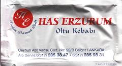 Has Erzurum Oltu Kebabı - Ön