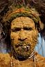 Mt.  Hagen Woodman (Dave Schreier) Tags: new man festival beard guinea mt mud tribal smoking leader tribe papua hagen goroka