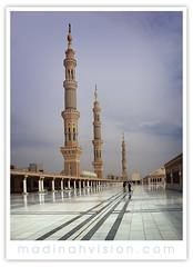 minarets-from-the roof (ArabianLens.com) Tags: green minaret muslim islam praying mosque mohammed madina dome saudi arabia medina ramadan mecca  allah umrah muhammad makkah dua hajj fasting prophets    madinah umra ramzan  omrah  kubba madeena        madinahmunawwarahrawlasharifgreendomeislamicsaudiarabiapilgrimdatesdesertreligiousziyarathprophetsmosquemasjidnabawiinmadinahmasjidmohammedtheprophetholycityramadanfastingeidulfithrpbuhmohammedpbuh allah