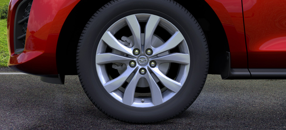19-inch aluminum-alloy wheels Mazda CX-7