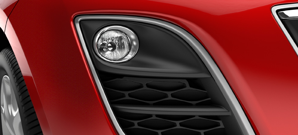 front fog lamp bezels Mazda CX-7