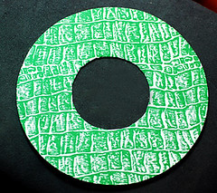 button-wreath-board (craftapalooza) Tags: green vintage buttons vintagebuttons buttonwreath buttonwreathtutorial