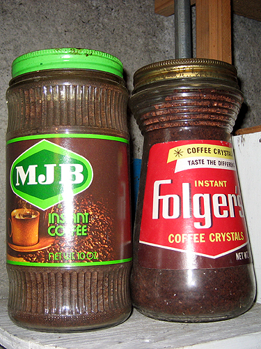 Instant coffee through the ages