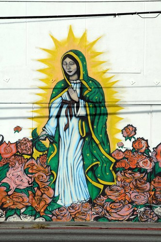 20 foot Virgin Mary