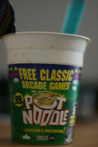 Pot Noodle Game