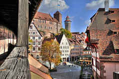 Nuremberg Castle (Habub3) Tags: travel castle architecture buildings germany deutschland photo nikon nuremberg explore architektur altstadt frontpage burg nrnberg historiccity citywall fachwerk stadtmauer d300 mywinners habub3
