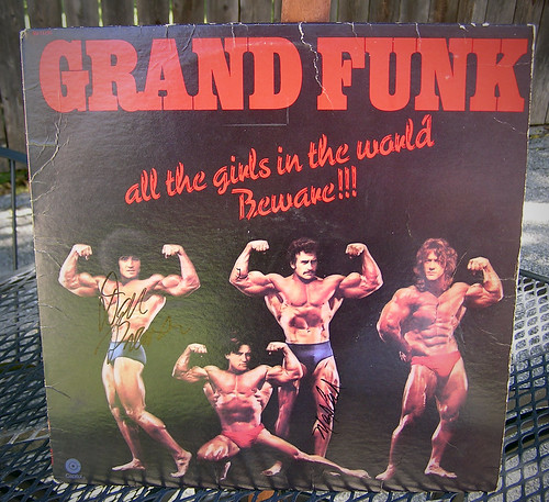 Signed Grand Funk LP