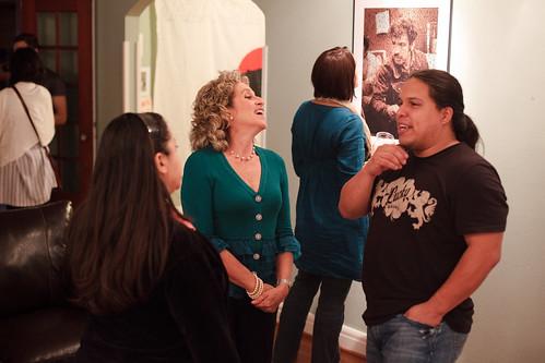 Liliana Valenzuela (Austin), Bryan Parras and Liana Lopez