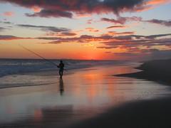 just letting a peaceful day end peacefully (Adriana Rbel) Tags: sunset praia nature fishing natureza prdosol beaches pesca regiodoslagos spiritofphotography