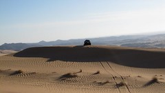 scale. (shine_on) Tags: sand desert offroad 4x4 dunes dune toyota jeddah suv fj landcruiser blazer saudiarabia cruiser k5 البر fjcruiser السعودية سعودي صحراء تويوتا طعس كروزر feshfesh لاندكروزر الجيب براري mastoora