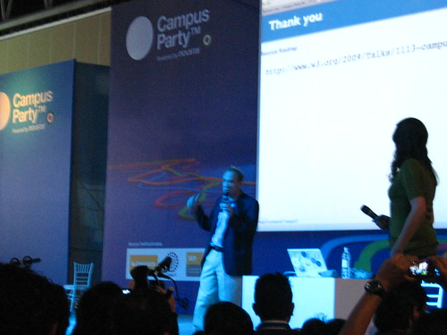 Tim Berners-Lee en el campus party