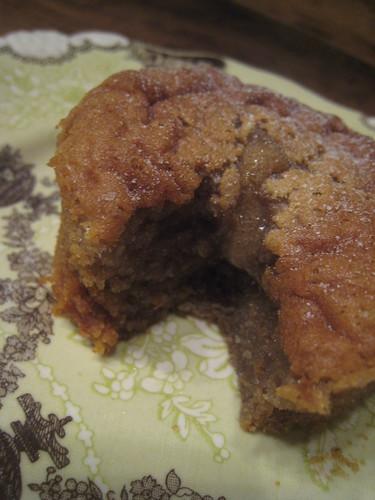 Molten Chestnut Cake