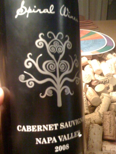 2008 Spiral Wines Cabernet Sauvignon