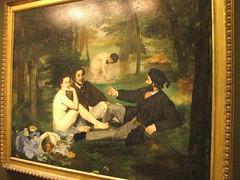 Manet - Le djeuner sur l'herbe - Museo d'Orsay (cepatri55) Tags: paris geotagged erba le museo 2009 orsay dorsay manet parigi colazione djeuner lherbe museodorsay ledjeunersurlherbe  cepatri cepatri55 geo:lon=2326527 geo:lat=48859845