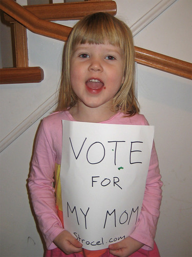 Campaigning for Mom