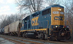 DSC_0003 (firephoto25) Tags: railroad train d50 nikon chili rochester csx 2693