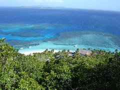 Birds View on Matamanoa Island Resort