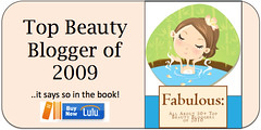 AIMB Featured In A Book As One Of The  50+ Top Beauty Bloggers of 2009 / 2010 !