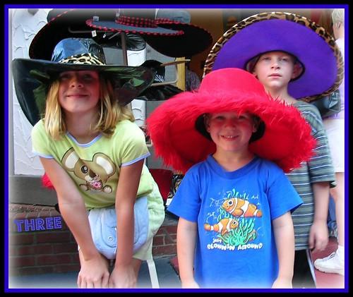 3 funny hats
