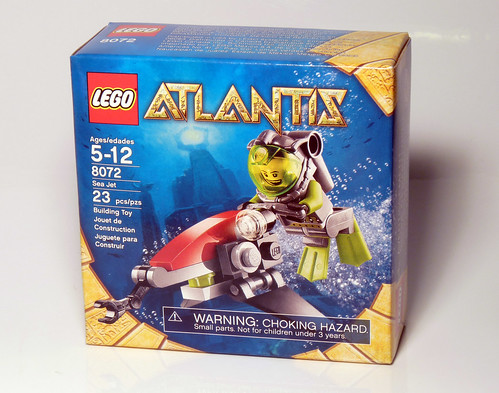 8072 - Sea Jet - 2010 LEGO Atlantis - Box