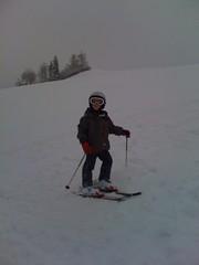 Erster Schneesport am Hohegg