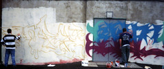 90'S GRAFF006 (wideangle07) Tags: dublin fish art paint factory belfast spray artists graff 90s drogheda dundalk tda irsh klann