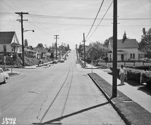 Orcas Street at 48th, 1958