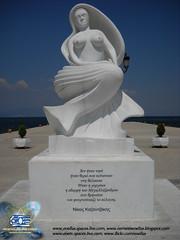 Θάσος-Μνημείο Καζαντζάκη
