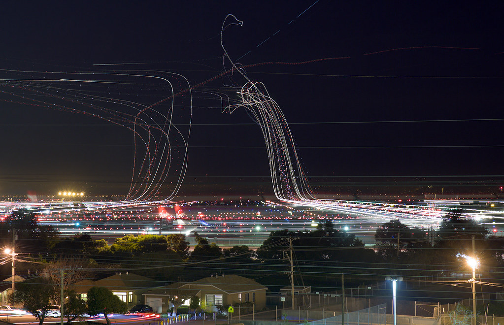SFO rush hour by By Terence Chang