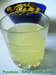 Pavakaai / Bitter Gourd Juice
